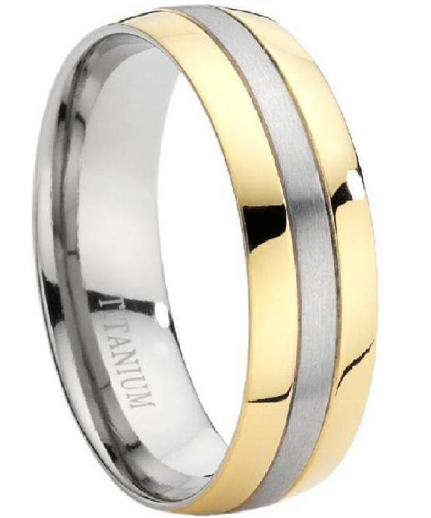 Titanium Rings at Mens-Wedding-Rings.com