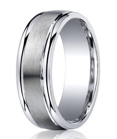 Home Shop By Metal Silver Argentium Silver Wedding Ring With