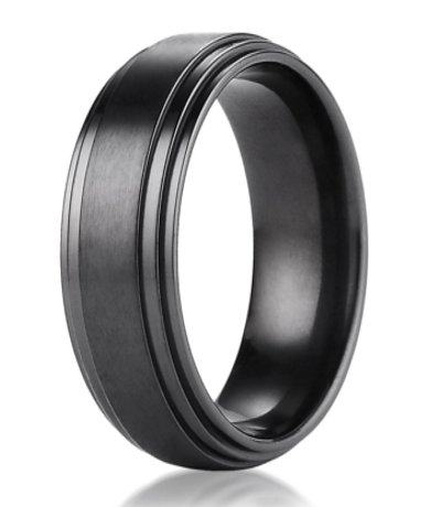 Home gt; Shop By Metal gt; Titanium gt; Mens Black Titanium Wedding Ring