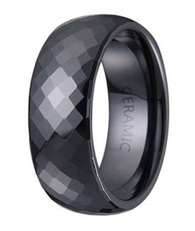 mc00049 - Ceramic Wedding Rings