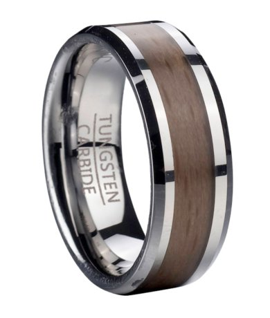 mtg0099 - Wooden Wedding Rings For Men
