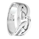 Stainless Steel Celtic Knot Band - MSS0112
