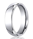 Classic Designer Cobalt Chrome Wedding Band for Men | 6mm