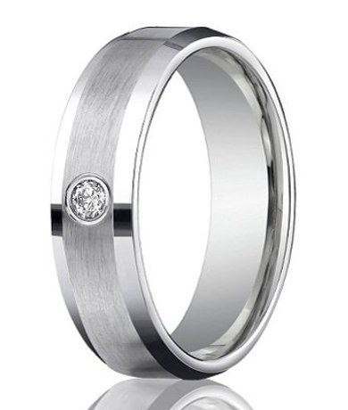rings wedding centre rose mens for sandblasted ring in profile men gold a and bands row with white court plain band width