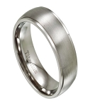 Titanium Wedding Ring for Men with Classic Domed Profile | 8mm